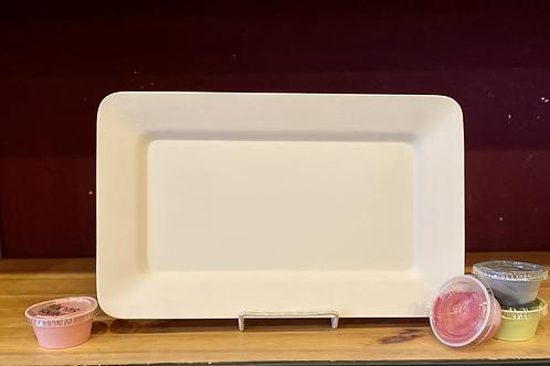 Rectangle Rim Platter