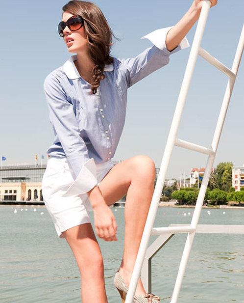 Allegra Shirt ~ Weave Stripe