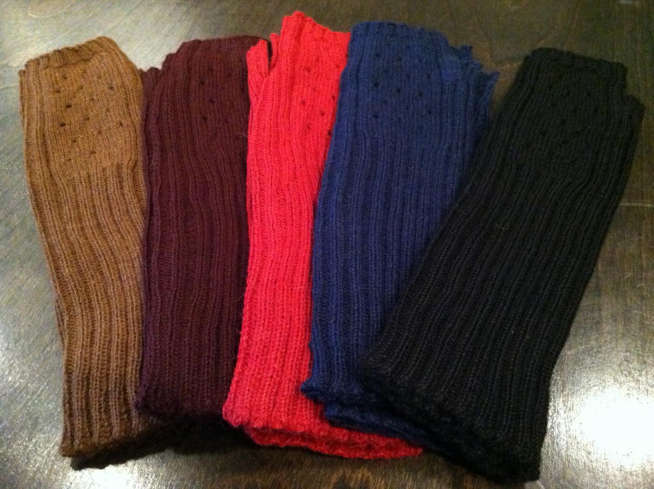 Jota Medium-length Fingerless Gloves