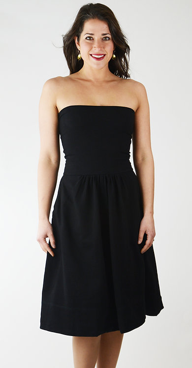 Jitterbug Skirt/Dress ~ Ebony