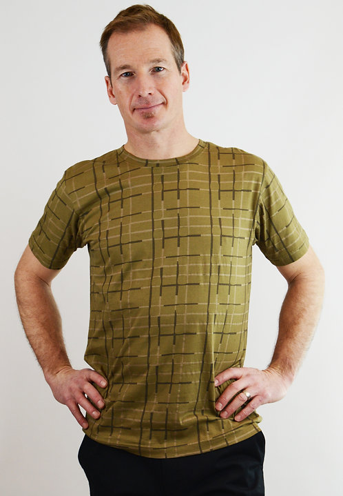 Gingko Botanical T Shirt ~ Sand Shadow