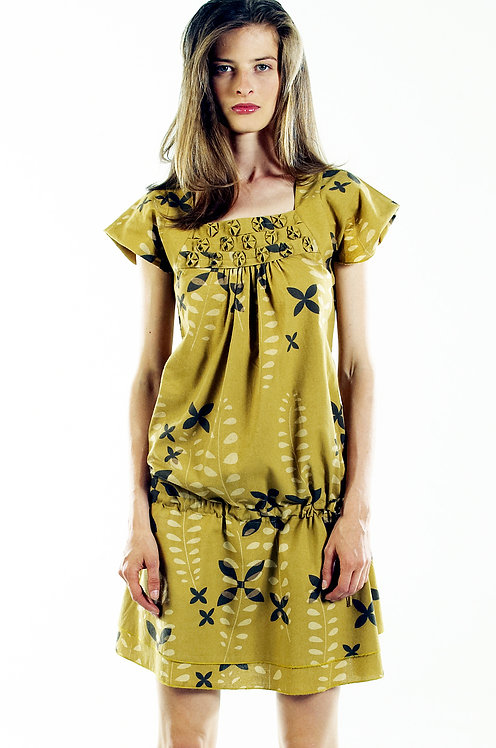 Angelica Dress ~ Prairie Fern