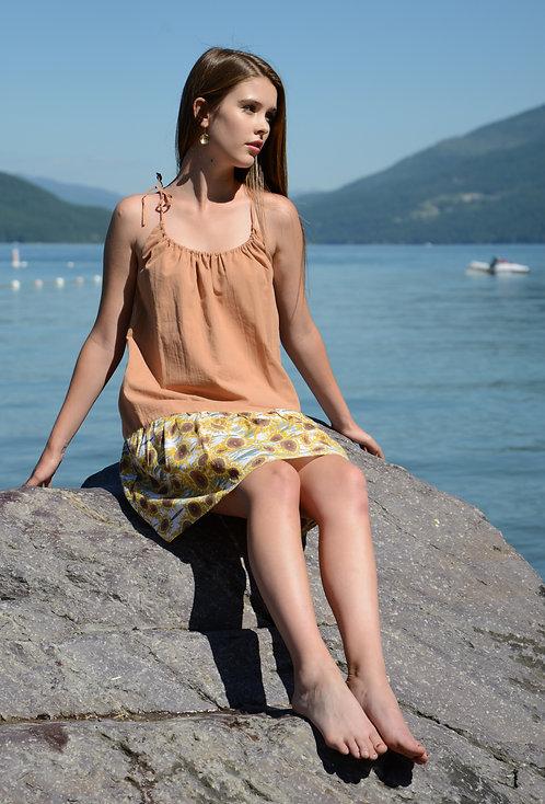 Siena Dress ~ Butterum/Sunflower