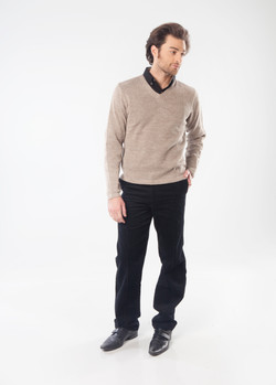 Felix Unisex Sweater ~ Camel
