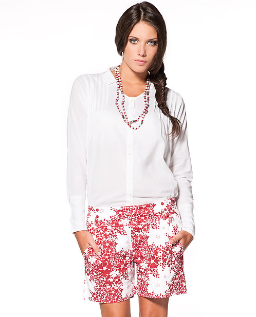Allegra Shirt ~ Blanc