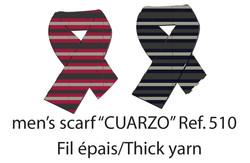 Cuarzo Men's Scarf