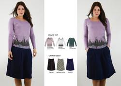 Prisca Top & Gayatri Skirt