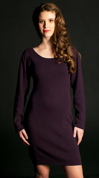Glamour Dress ~ Plum