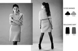 Boulevard Skirt & Elysee Warmer