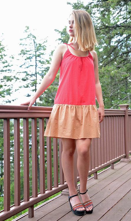 Siena Dress ~ Red/Butterum