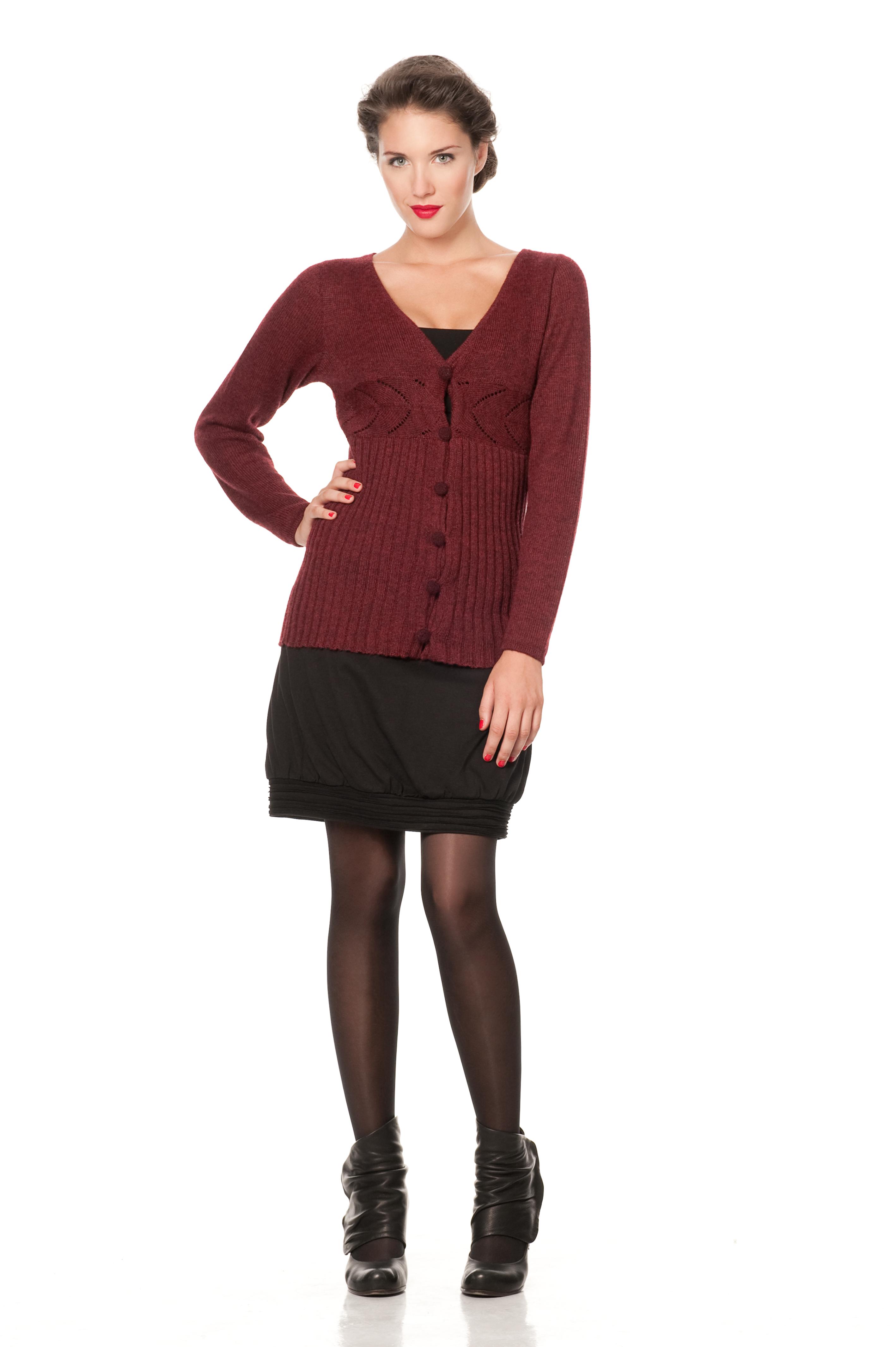Salsa Sweater ~ Auburn