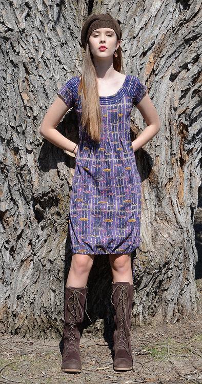 Sharav Dress ~ Klimt Print