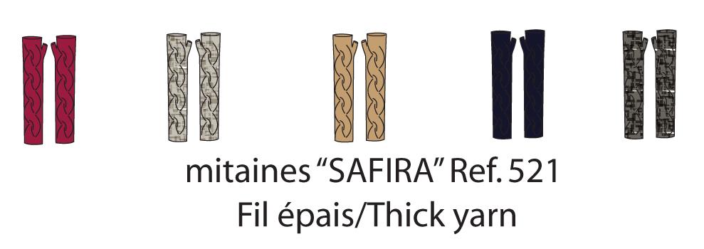 Safira Medium-length Finger-less