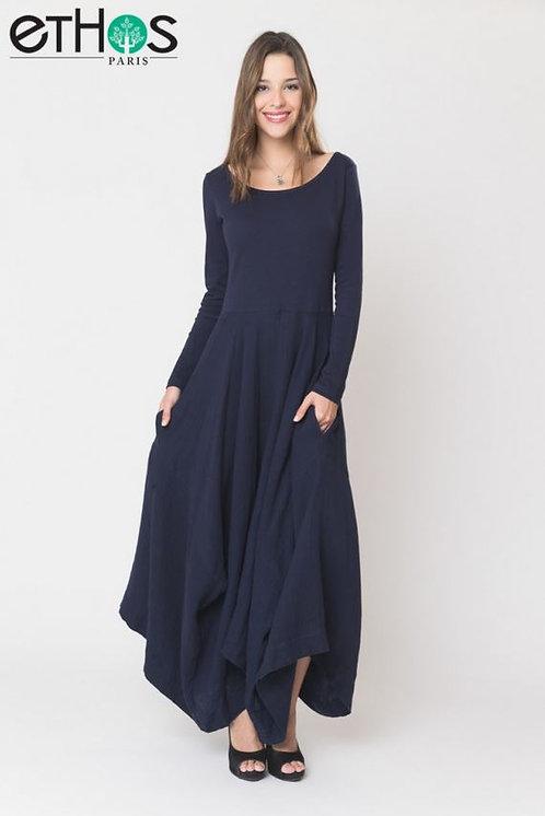Mirabeau Dress ~ Indigo