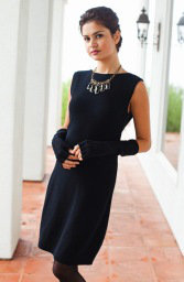 Amerigo Dress ~ Ebony