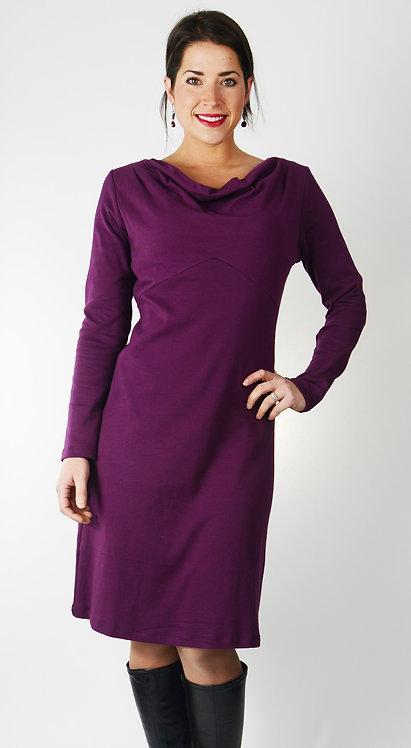 Natasha Dress ~ Burgundy