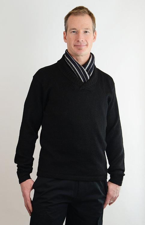Maestro Alpaca Sweater ~ Nero