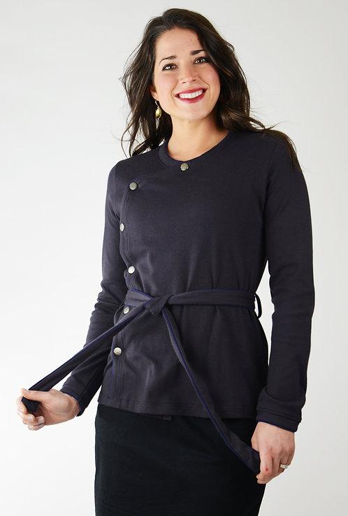 Maya Top/Jacket ~ Blackberry