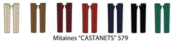 Castanets Long Finger-less Gloves