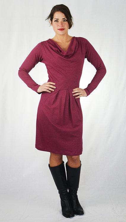 Gracie Dress ~ Plum Melange