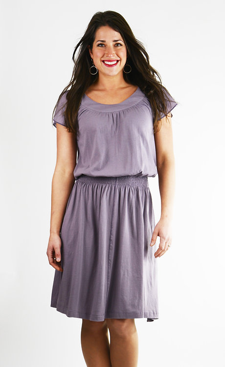 Andalucia Dress ~ Dusty Lavender