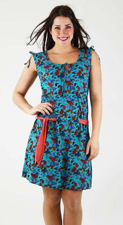 Topaze Dress ~ BoraBora Print