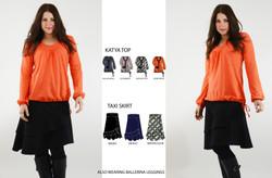 Katya Top & Taxi Skirt