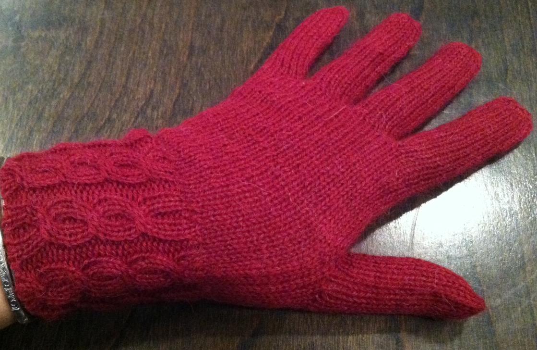 Torina Gloves ~ Wine