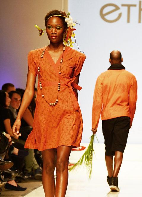 Willow Botanical Dress ~ Terra