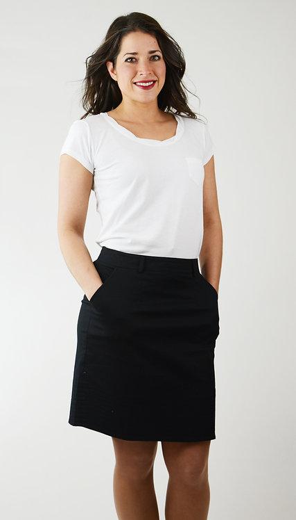 Davinci Skirt ~ Ebony