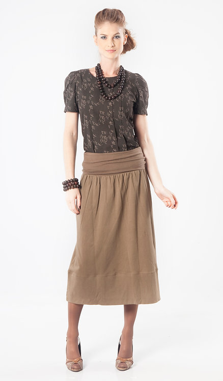 Nebula Skirt/Dress ~ Teak