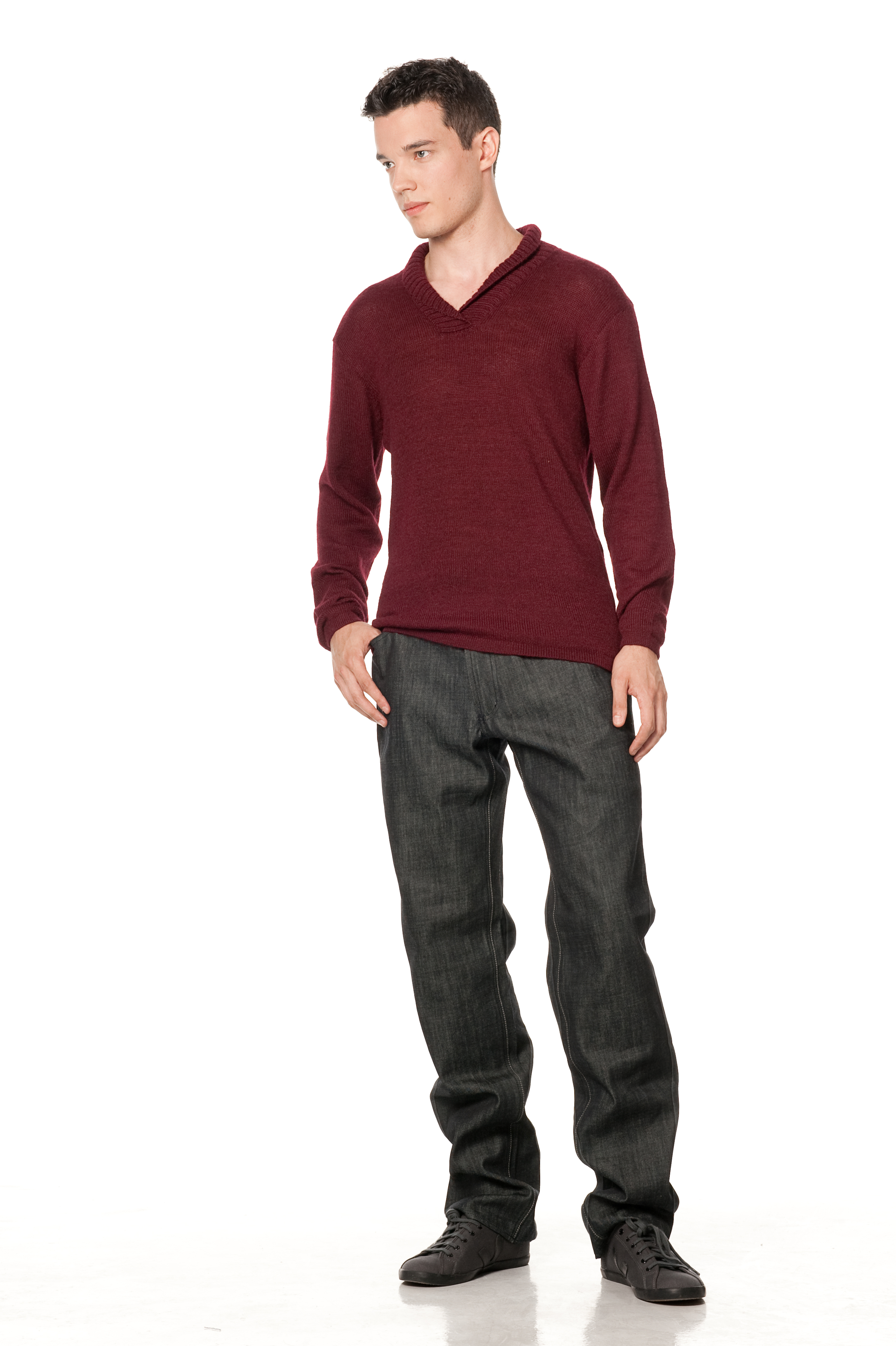 Maestro Men's Sweater ~ Auburn