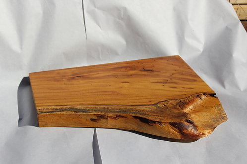 Madre Cacao hardwood Charcuterie board. Handcrafted and finished with proprietary wax/oil by Intuitive Craftworks