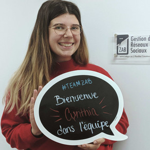 Cynthia Gauthier - Gestionnaire de réseaux sociaux