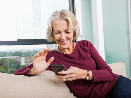 Les aînés réticents à utiliser la technologie ?
