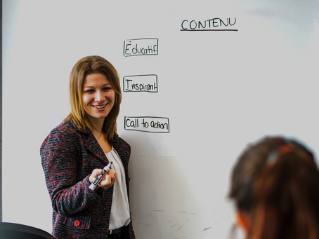 Une stratégie de contenu adaptée en 3 axes