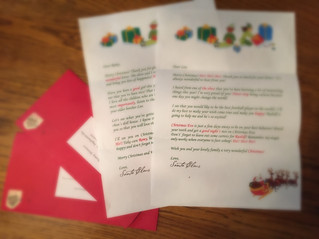 Letter from Santa Claus!