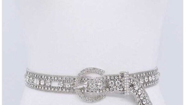 Ice me out statement belt
