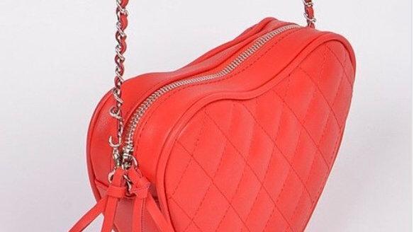 Open my heart  crossbody purse