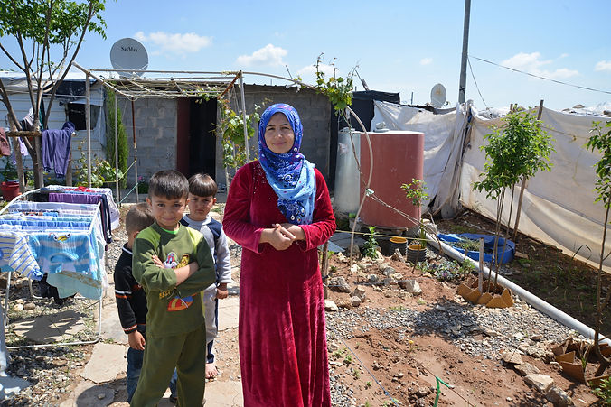 refugee gaden