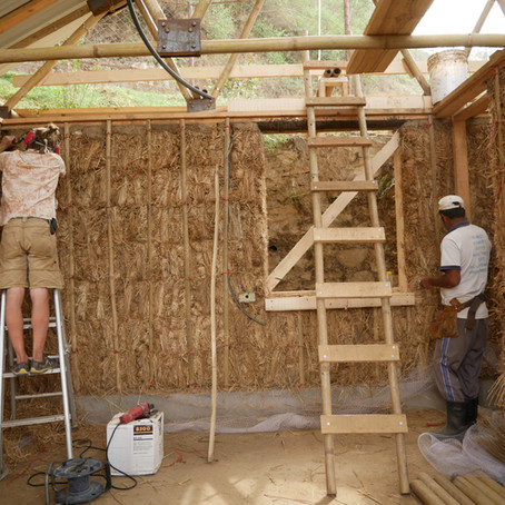 Nepal's First Strawbale House