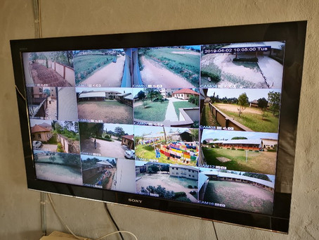 School Installs CCTV System