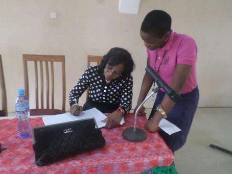 Joyce Unuegbu Gives Speech on Adolescence
