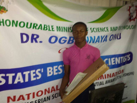 774 Young Nigerian Scientist Presidential Award