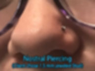 stud jewlery Nostril Piercing DeVille Ink Baltimore Md nose piercing Best in Baltimore