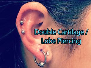 ear piercings  cbr circular bead ring Piercing DeVille Ink Baltimore Md female ear piercing custom jewlery piercing Best in Baltimore