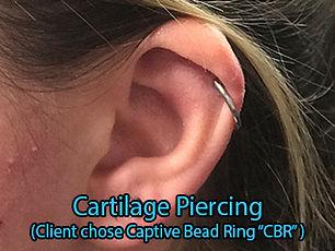 cartilage crb ring Piercing DeVille Ink Baltimore Md Ear piercing Best in Baltimore
