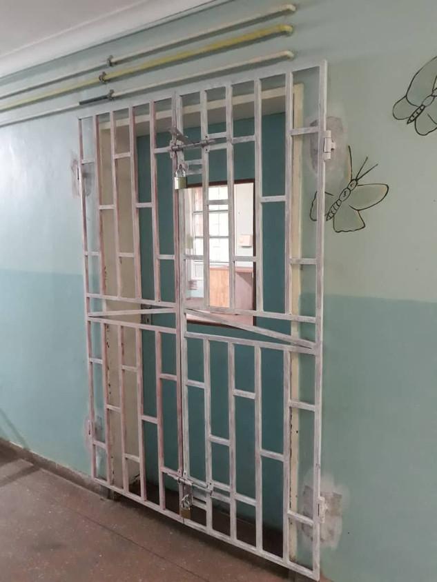Burglar Bars for New Lab