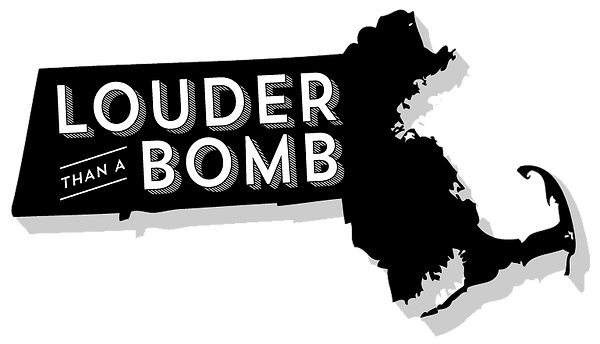 Louder Than A Bomb Massachusetts MassLEAP Logo