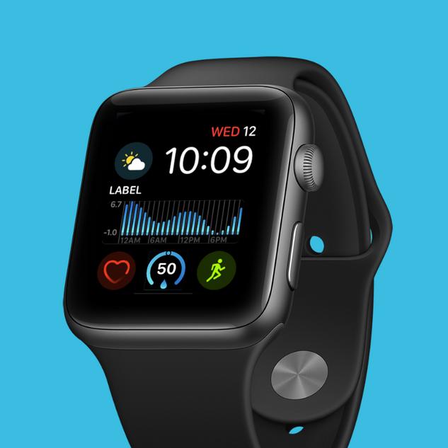 Apple watchOS XD UI Kit